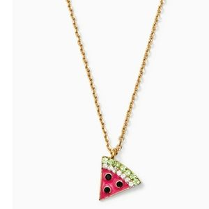 Kate Spade Picnic Perfect Melon Necklace